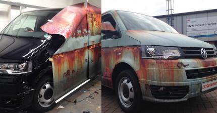 為了要防止車被人偷走,這個車主居然用了這個超極端的解法!