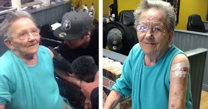 這名79歲的超級阿嬤顯然地叛逆期來得太晚,最後找到她的地方讓所有人都超傻眼!