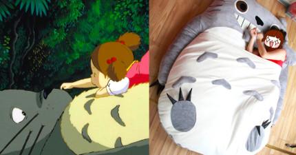 有人告訴我,買了這張超可愛療癒心靈的「龍貓床」就再也不會失眠。