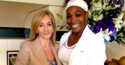知名網球女將奪冠卻遭性別歧視網友亂嗆,讓《哈利波特》作者JK羅琳忍不住暴怒回應!