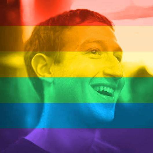 在你把大頭貼也改成彩色的同時,其實也中了Facebook秘密執行的計謀?!