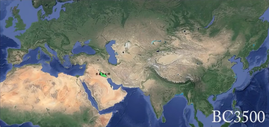 這個只要4分鐘就可以看完的世界5500年演變絕對讓你全身雞皮疙瘩。