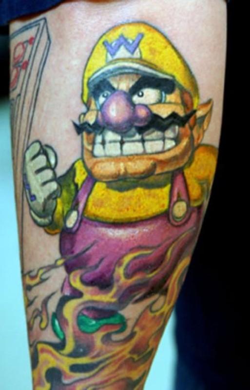 21個「只有資深電玩迷才會懂」的超懷舊電玩刺青!