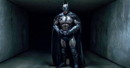 這個團隊用3D列印技術印出了一套連「蝙蝠俠也會嫉妒」的超帥蝙蝠裝!