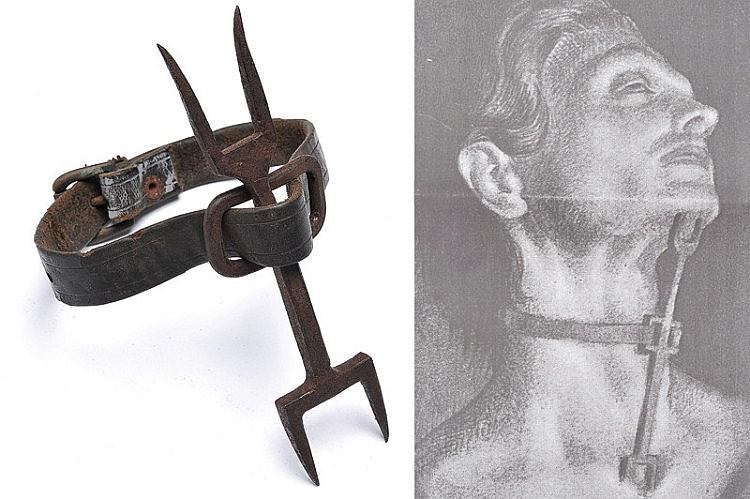 15個讓人瞬間「放下屠刀,立地成佛」的光看就想死了的古代刑具。