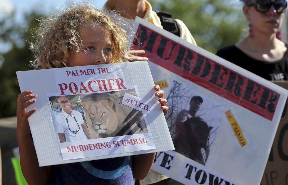 這名盜獵獅子的牙醫讓人們都氣瘋了!所以便在他診所前展開了各式各樣的驚奇抗議手段...