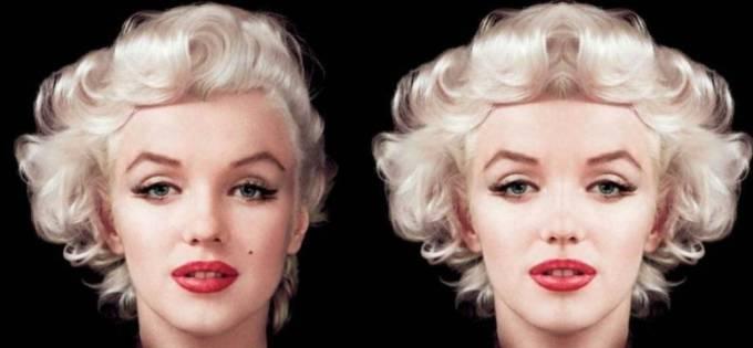 科學說左右對稱面貌是最完美的,但這16張「明星左右對稱合成照」怎麼有點恐怖啊?