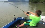 9歲小男孩靠自己花了1:45小時才釣到的270公斤巨無霸大魚,看到才知道有多猛!