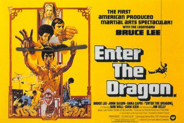 Enter the Dragon was made with a $600,000 budget. It has grossed over $300,000,000.