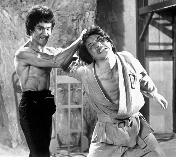 Jackie Chan was one of Lee's anonymous enemies in Enter the Dragon.