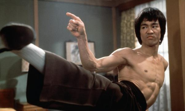 In 1970, Lee injured his back while lifting weights. He was told he would never be able to kick again. The doctors were dead wrong. All of Lee's most famous films were made after 1970.