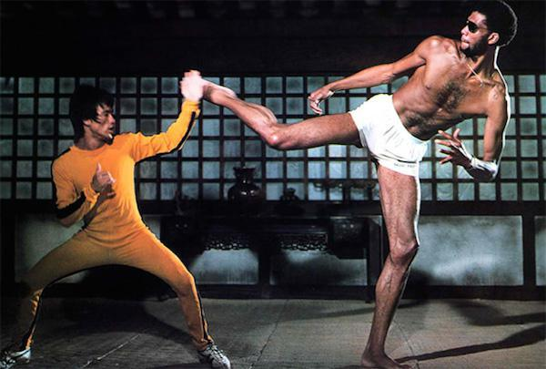 Bruce died before his last film, The Game of Death, could be finished. This movie contains footage from his real life funeral.