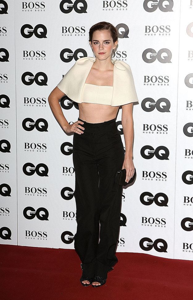 And the time she wore a crop top that made us all bow down to the queen of style.
