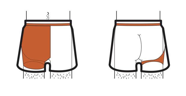 這革命性的四角褲會讓所有男士再也不會因為「突發勃起事件」而尷尬。