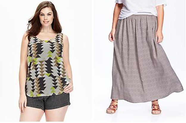在聽到隔壁的母女取笑一件超大號衣服「只有胖子會穿」後,這名大尺寸女孩就決定把它買下來。