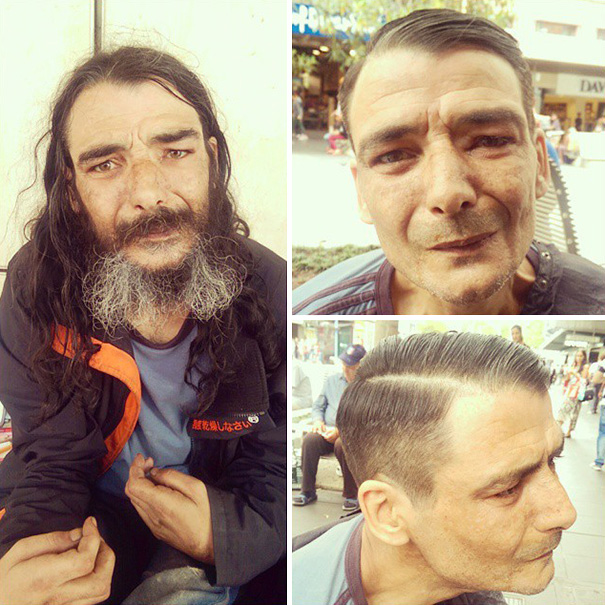 這名理髮師曾經吸毒成癮,但在戰勝毒品後他卻又再度走上了上癮之路,不過是最棒的那種!