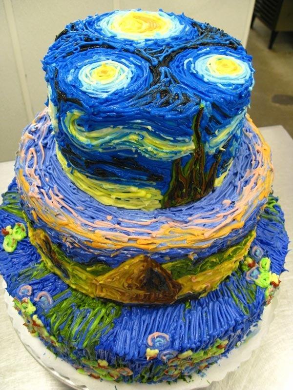 26款精緻到讓你忍不下心切開的超完美蛋糕。