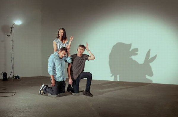 Advanced shadow puppetry.