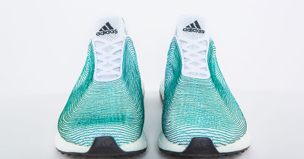 愛迪達計畫製造這雙「很有意義的鞋子」,素材全從海洋和盜捕者手中取得!