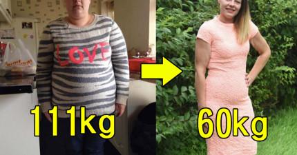 這個女生把她每天飲食中拿掉一樣東西之後,體重竟然就從破百掉到了60公斤!
