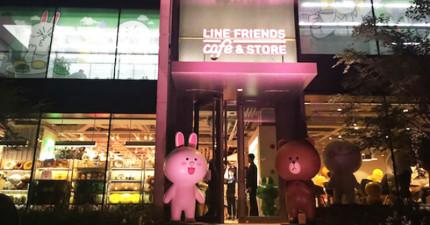 即便被中國禁用,LINE還是在上海開了全世界最可愛的咖啡廳完全打敗禁用令!