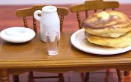 這盤鬆餅你就算吃1000盤都不會變胖喔!