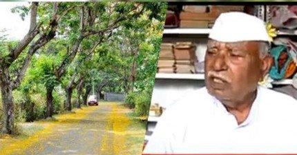 這名老師跟政府申請協助遭拒,最後居然自己動手花了57年打造40公里的道路!