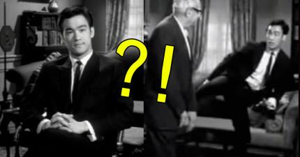 李小龍進軍好萊塢的試鏡影片流出,示範出拳快到不放慢速度根本就看不到!