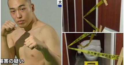因為發現老婆跟律師外遇,這名日本拳擊手拿著園藝剪刀闖進了律師事務所...