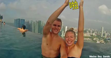 旅遊照完全弱掉,這對情侶的「只要一擊掌就瞬間移動」影片才是現在誰都想學的最棒方式!