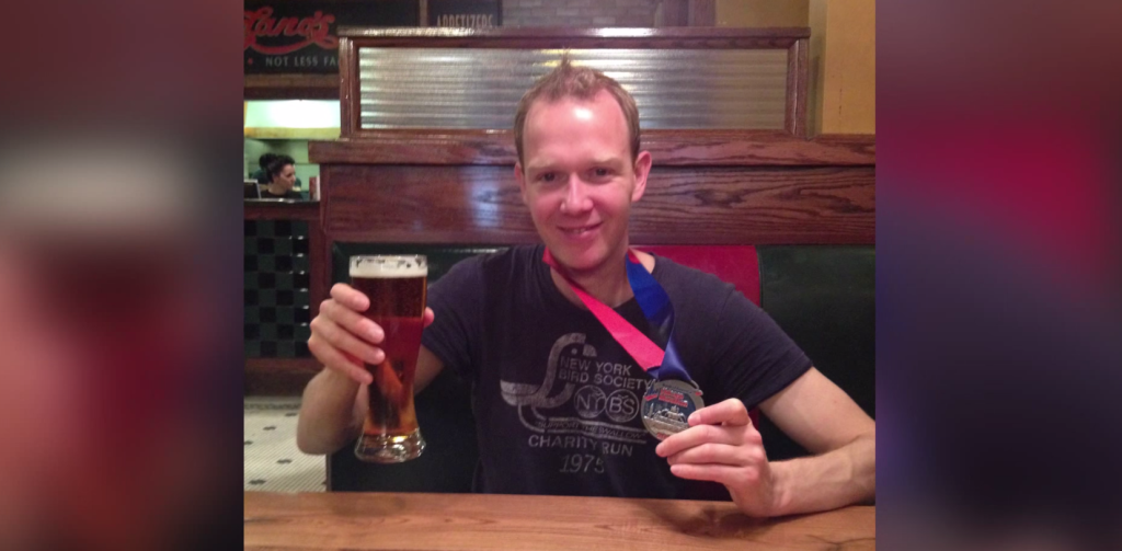 這名男子在接受了牛的心臟部位移植後,成功跑完8個馬拉松!