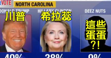 2016美國總統第三位候選人出現,他的名字就叫做「這些睪丸」?!他的模樣真的太猥瑣了...