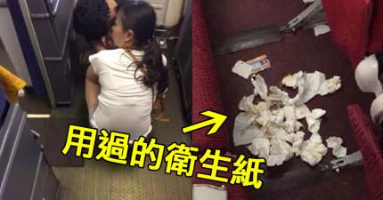 這個媽媽竟然讓小孩在飛機上隨地大便,但她的解釋會讓人氣到想叫海關把她扣留...