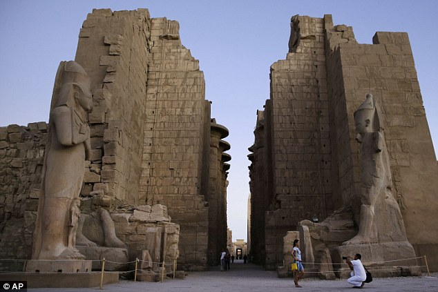 The real Karnak Temple is thousands of miles away in the historic city of Luxor and is substantially bigger