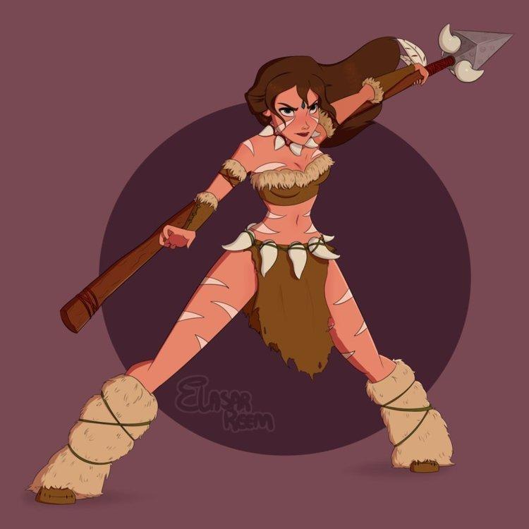 10位「迪士尼公主」和「英雄聯盟角色」合體後真的帥到有點太過分啊!
