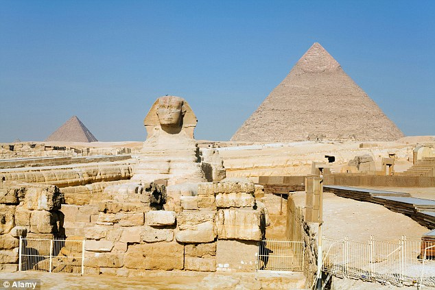 The original Sphinx in Cairo has lost much of its facial features over the millennia since its construction