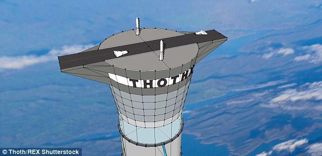 這個「太空電梯」的高度是101大樓的40倍,但它的功能會讓連有懼高症的人都想搭搭看。