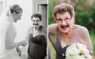 這名新娘邀請了她89歲的老奶奶來當伴娘,結果之後發生的事情令人都太驚訝了!