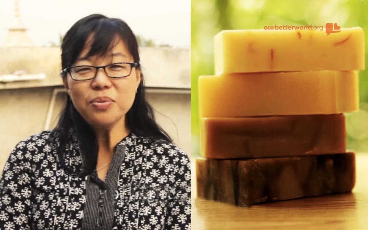 她從13歲就被迫成為性工作者,最後卻被「肥皂」拯救了她的一生。