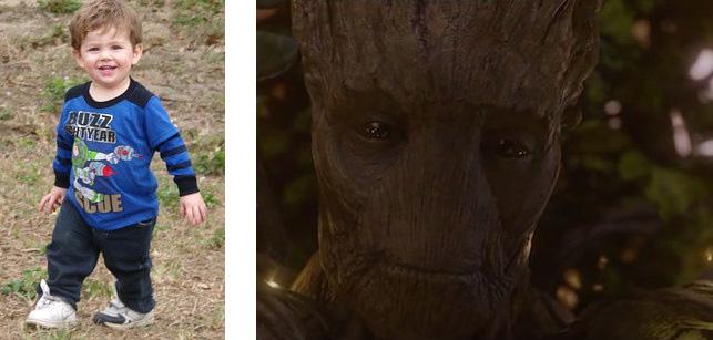 一位爸爸跟《星際異攻隊》的導演說「格魯特」說話的方式改變了他兒子的一生!