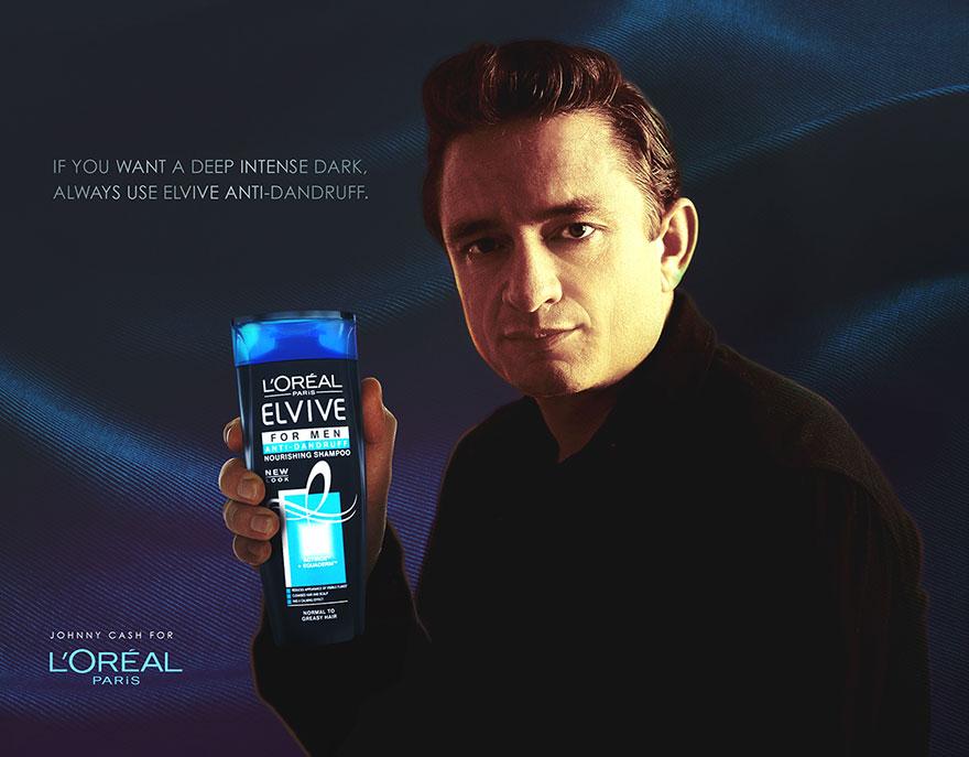 13個「早期已故巨星代言現代產品」的廣告完全會害人不小心把卡刷爆啊!
