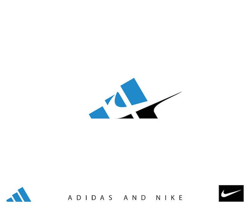 10個你這輩子不可能看到的「大品牌合體Logo」。