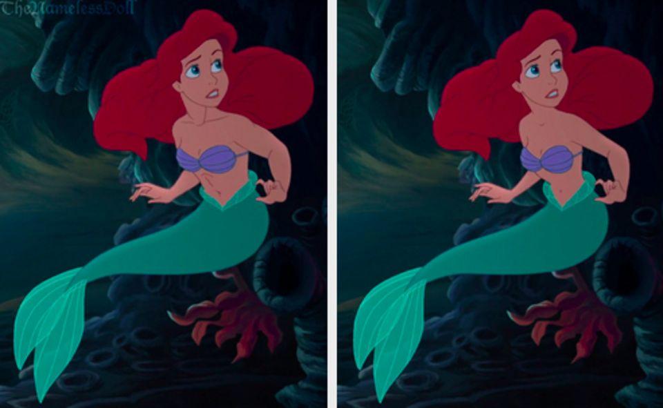 如果把迪士尼公主們變得「更豐滿一點」的話...我覺得還更像童話故事耶!