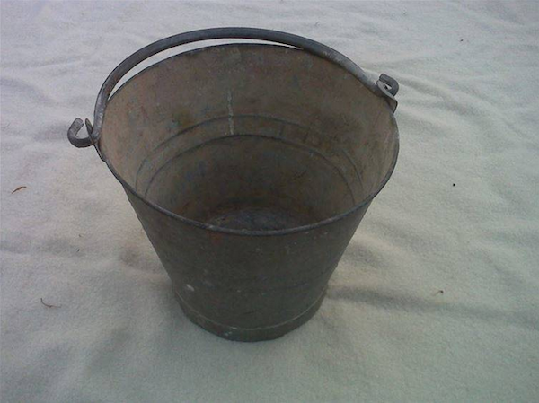 In Russia it is said to be bad luck to carry an empty bucket, or even to see someone carry an empty bucket.