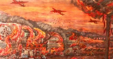 二戰時廣島長崎原子彈爆炸舉世皆知,但你可能還不認識死傷其實更慘烈的「東京大轟炸」!