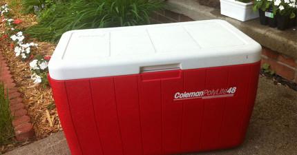 這個地方的人不知道為什麼都會在住家外面擺一個保溫冰桶,世上每個人都該這麼做!