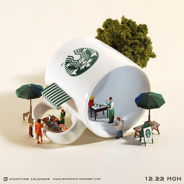 fun miniature diorama 25