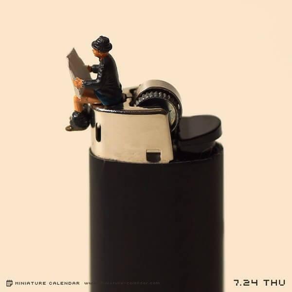fun miniature diorama 27