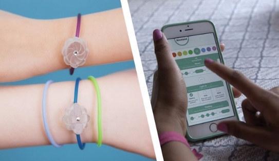 The educational Jewelbots bracelet