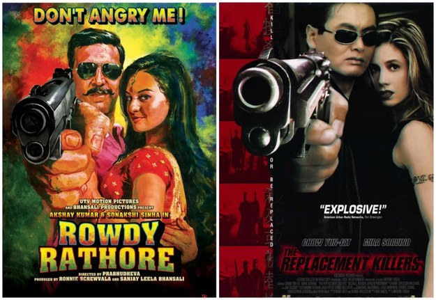 You'll never see anything like Bollywood posters from any other film industry in the world.